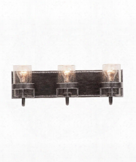 "Bexley 20"" 3 Light Bath Vanity Light In Vintage Iron"