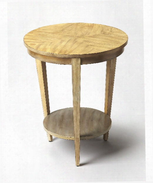 """Butler Loft 22"""" Accent Table In Driftwood"""