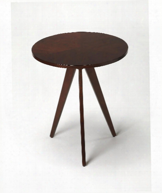 """Butler Loft 22"""" End Table In Plantation Cherry"""