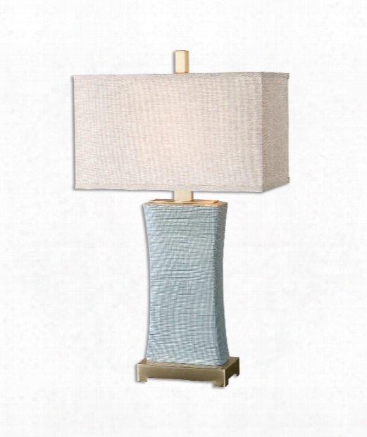 "Cantarana 17"" 1 Light Table Lamp In Coffee Bronze"