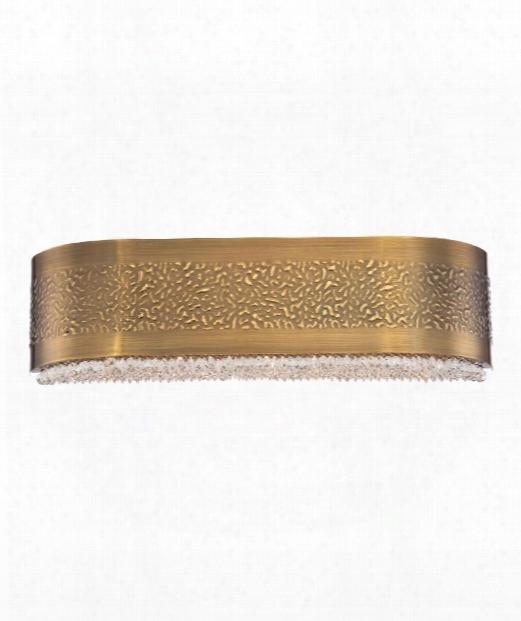 Cara 4 Light Bath Vanity Light In Gold