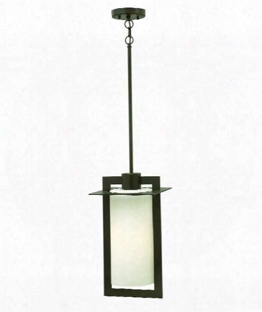 "Colfax 10"" 1 Light Outdoor Hanging Lantern In Bronze"