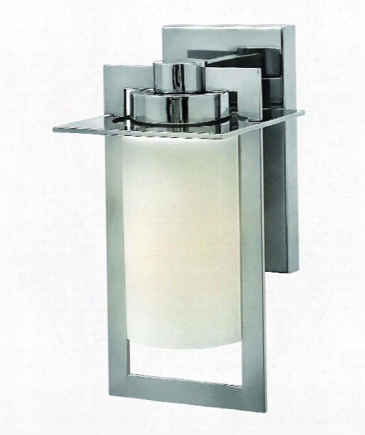 "Colfax 6"" 1 Light Outdoor Outdoor Wall Light In Polished Stainless Steel"