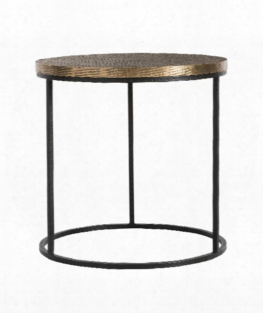 "Nixon 24"" Accent Table In Natural"