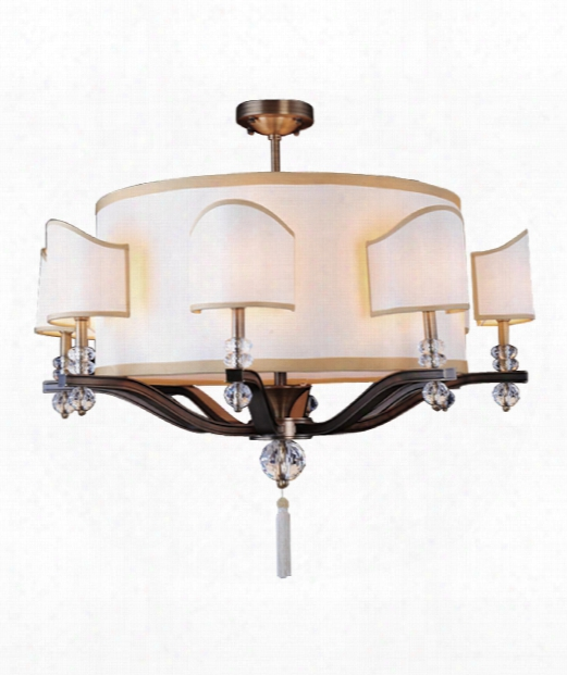 Sutton 16 Light Chandelier In Antique Brass