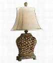 Augustine 1 Light Table Lamp in Beige