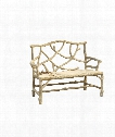 """Woodland 49"""" Bench in Faux Bois"""