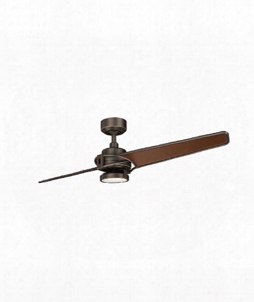 "Xety 56"" Led 1 Light Ceiling Fan In Olde Bronze"