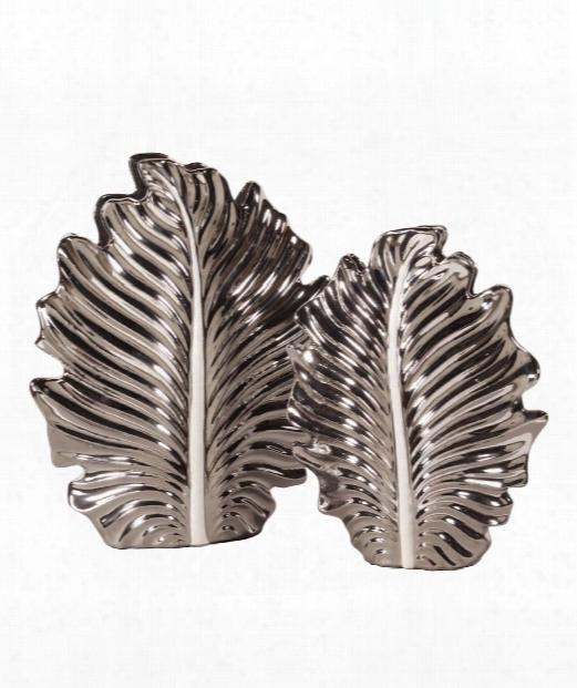 """12"""" Vase-urn In Nickel Plated"""