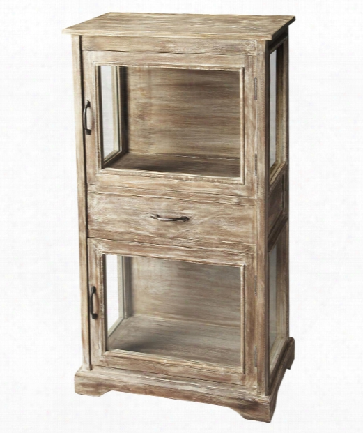 """Artifacts 24"""" Drawer Chest In Gray"""