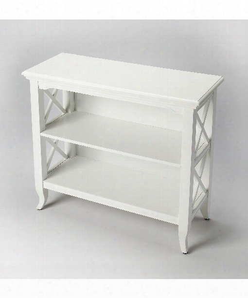 "Butler Loft 32"" Other Home Accent In Glossy White"