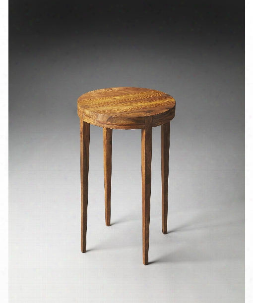 """Cagney 14"""" Accent Table In Butler Loft"""