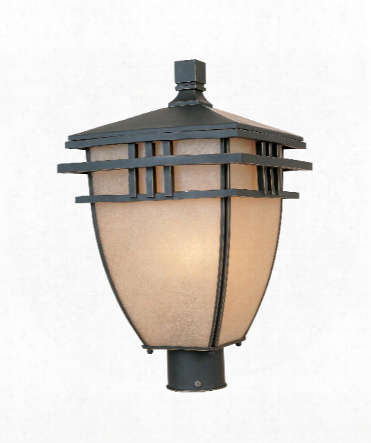 """Dayton 11"""" 3 Light Outdoor Outdoor Post Lamp In Aged Bronze Patina"""