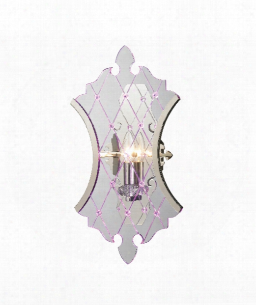"""Radelle 5"""" Wall Sconce In Polished Nickel"""