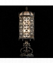 "Costa del Sol 10"" 3 Light Outdoor Outdoor Pier Lamp in Wrought Iron"
