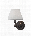 "Sidney 7"" 1 Light Wall Sconce in Old Bronze"