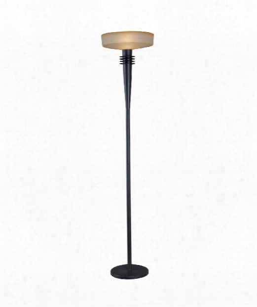 "Windham 16"" 1 Light Torchiere Lamp In Bronze"