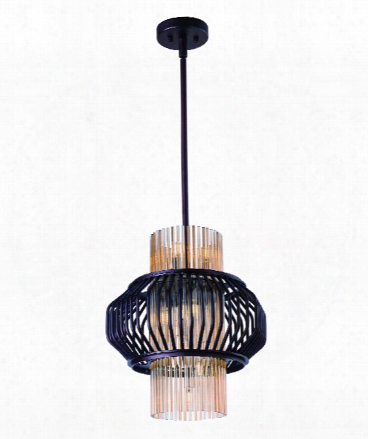 "Aviary 15"" Led 12 Light Wall Sconce In Oil Rubbed Bronze"