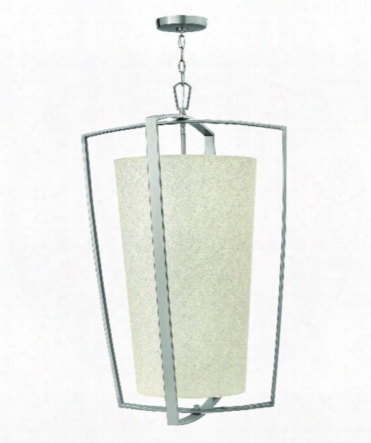 "Blakely 22"" 4 Light Large Pendant In Brushed Nickel"