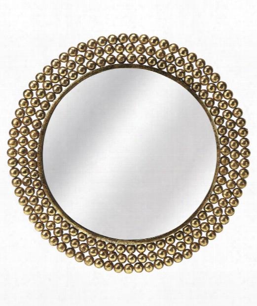 "Butler Loft 26"" Wall Mirror In Gold"