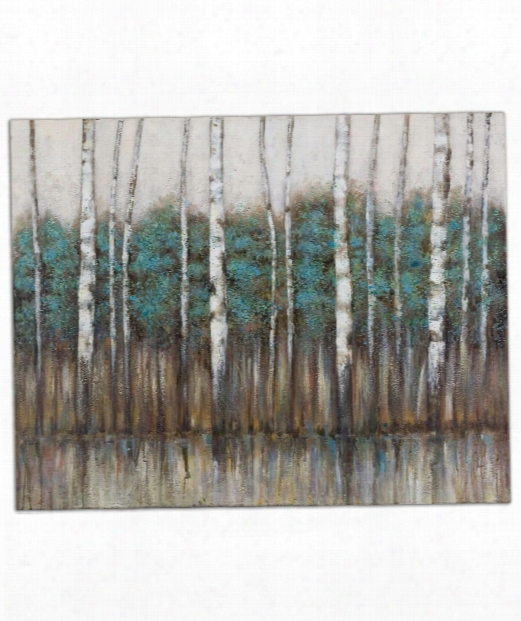"""Edge Of The Forest 51"""" Painting"""