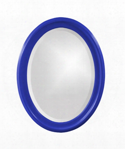 "George 25"" Wall Mirror In Royal Blue"