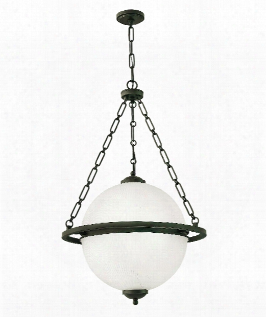 "Howell 25"" 4 Light Large Appendix In Oil Rubbed Bronze"