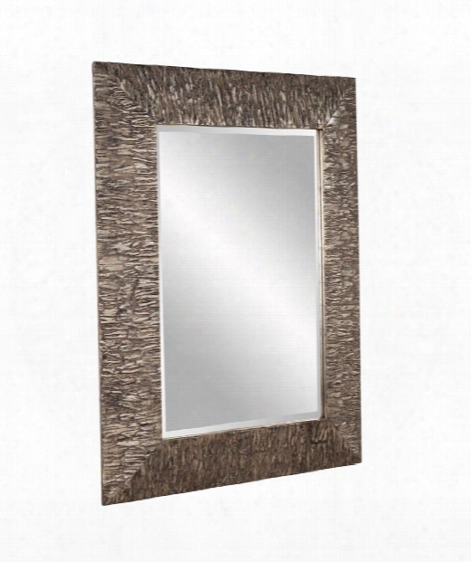 "Linden 37"" Wall Mirror In Champagne"