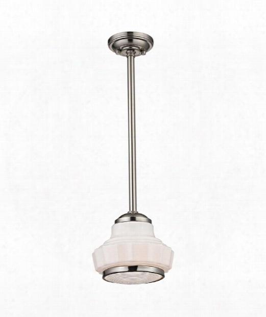 "Odessa 16"" 3 Light Large Pendant In Satin Nickel"