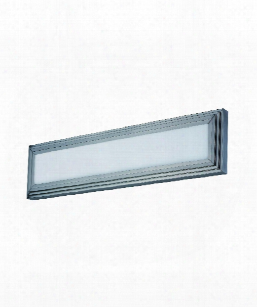 "Picazzo 24"" Led 2 Light Bath Vanity Light In Satin Nickel"