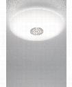 """10"""" LED 1 Light Flush Mount in Satin Nickel"""