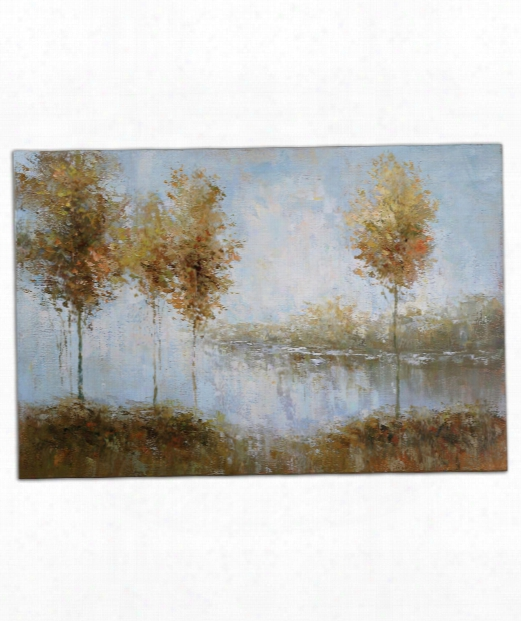 """View Of The Lake 60"""" Painting"""