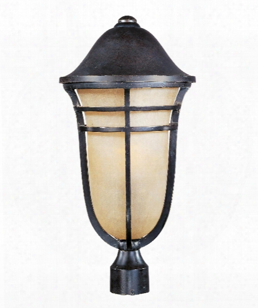 "Westport Vx 12"" 1 Light Outdoor Outdoor Post Lamp In Artsian Bronze"