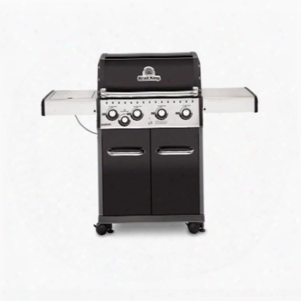 "922167 24"" Baron 440 Series With 4 Burner 644 Sq. In. Cooking Space 40000 Btu Main Burner And 10000 Btu Side Burner In"