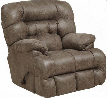 "Colson Collection 4624-2-2724-28/2725-28 4"" Chaise Rocker Recliner With Sensate Heat Massage Feature Comfort Coil Seating Comfor-gel And Soft Polyester"