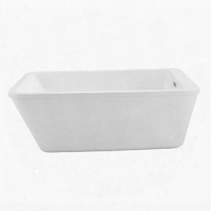 "N24060fswhfm 60"" Streamline N-240-60fswh-fm Soaking Freestanding Tub With Internal"