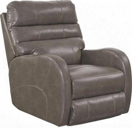 "Searcy Accumulation 64747-4-1263-28 32"" Power Wall Hugger Recliner With Usb Port Radius Arm Design Triple Pub Back Coil Seating System Double-needle"