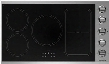 "BSP36INDCKT 36"" Induction Cooktop with 5 Elements 12 Temperature Settings Safety Knob Lock Hot Surface Indicator Light in Stainless"