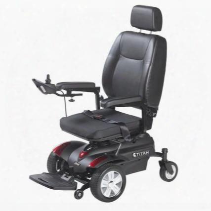 """Titan20p22 Titan Front Wheel Power Wheelchair Pan Seat 20"""" X"""
