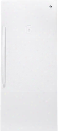 "Fuf21dlrww 33"" Upright Freezer With 21.3 Cu. Ft. Capacity Led Lighting Exterior Electronic Temperature Control And Frost Free Defrost In"