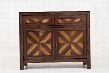 "Marquesas Collection 1644-40 40"" Two-Tone Accent Chest with Drawers and Two Doors in"