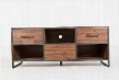 "Studio 16 Collection 1662-62 62"" Media Console with Three Drawers Three Shelves and Wire Management in"