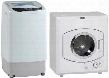 "White Top Load Laundry Pair with TLW09W 17"" Portable Washer and D1101IS 24"" Electric"