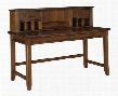 Woodboro Collection H478-44-48 2-Piece Set with Desk and Hutch in