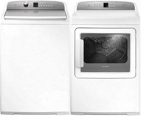 "White Top Load Laundry Pair With Wl4027p1 27"" Washer And Dg7027p2 27"" Gas"