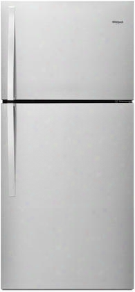 "Wrt519szdg 30"" Top Freezer Refrigerator With 19.2 Cu. Ft. Capacity 3 Glass Shelves 1 Flexi-slide Bin 2 Humidity Controlled Crispers Led Interior Lighting"