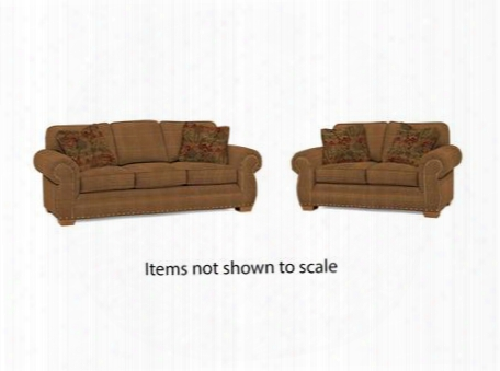 Cambridge Collection 5054q1829812829679sl 2-piece Living Room Set With Sofa And Loveseat In Yellow With Attic Heirlooms