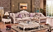Arturo Collection 696LSSEC 3-Piece Living Room Set with Sectional Sofa End Table and Coffee table in Rich Pearl