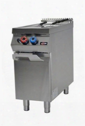 """Axgpc1 16"""" Gas Single Pasa Cooker With Basket 10.56 Gallons Of Water Capacity 45000 Btu/hr In Stainless"""