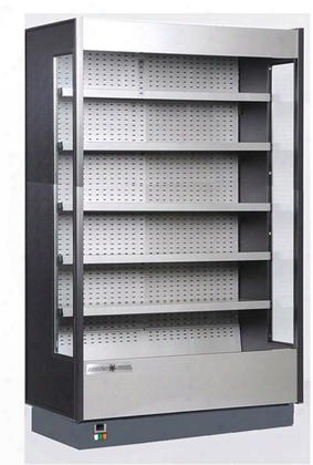 Kgh100s Grab-n-go High Profile Cases With 58.2 Cu. Ft. Capacity 2 Hp Led Lighting Open Front Front Loading In